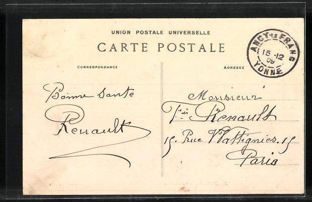 AK Argenteuil, Le Chateau 1