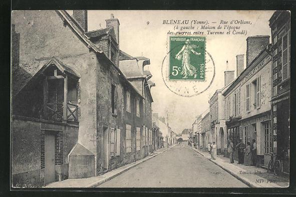 AK Bleneau, Rue d`Orleans 0