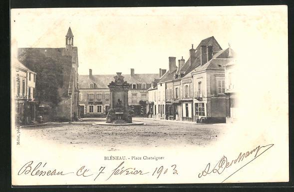 AK Bleneau, Place Chataigner 0