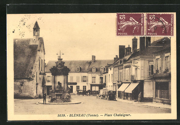 AK Bleneau, Place Chataigner 0