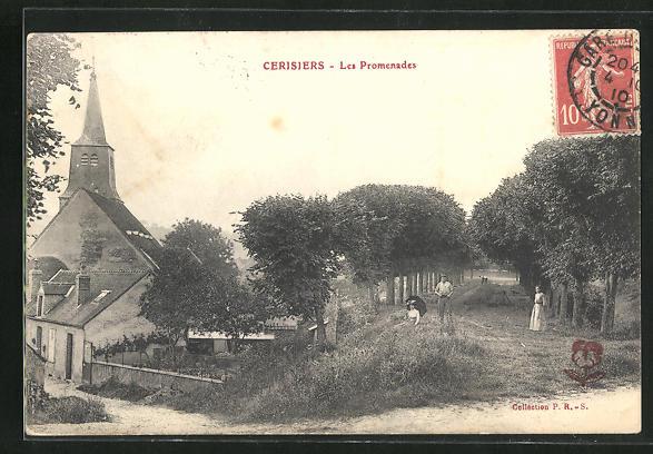 AK Cerisiers, Les promenades 0
