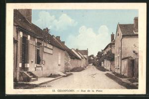 AK Champlost, Rue de la Poste