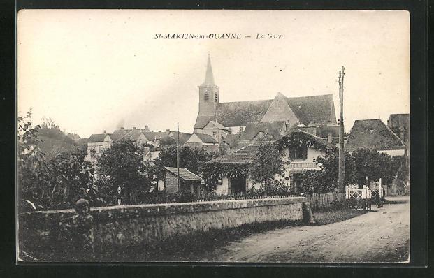 AK St-Martin-sur-Ouanne, La Gare 0