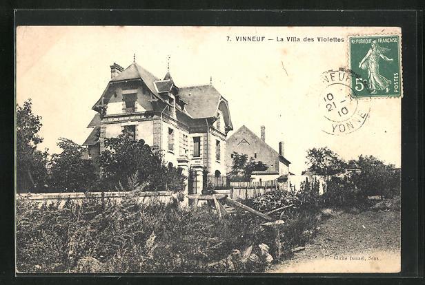 AK Vinneuf, La villa des Violettes 0
