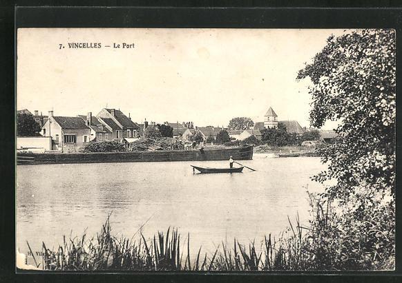 AK Vincelles, Le Port 0