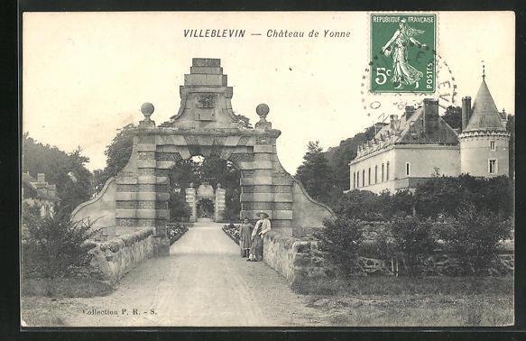 AK Villeblevin, Chateau de Yonne 0