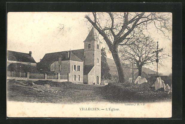 AK Villecien, L`Eglise 0
