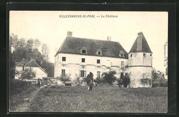 AK Villefranche-St-Phal, Le Chateau 0
