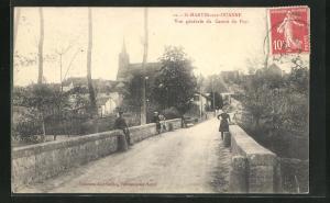 AK St-Martin-sur-Ouanne, Vue generale du Centre du Pays