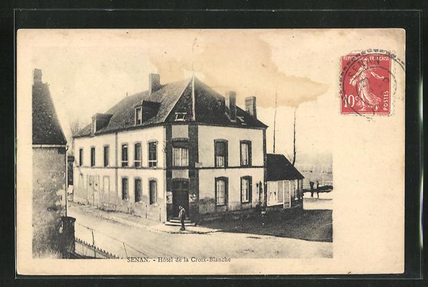AK Senan, Hotel de la Croix-Blanche 0