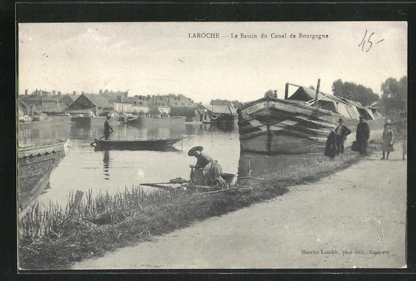 AK Laroche, Le Bassin du Canal de Bourgogne 0