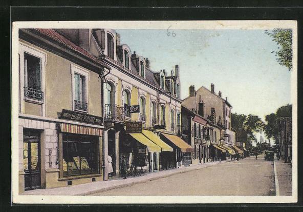 AK Migennes, L`Avenue de la Gare 0