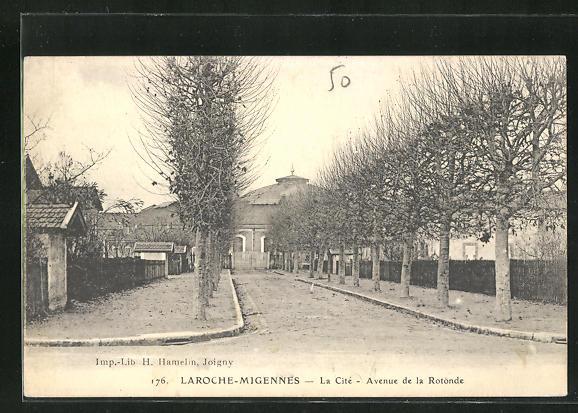AK Laroche-Migennes, La Cite, Avenue de la Rotonde 0
