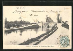 AK Laroche, Le Canal de Bourgogne