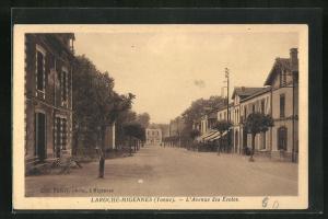 AK Laroche-Migennes, L`Avenue des Ecoles