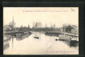 AK Migennes-Laroche, La jonetion du Canal de Bourgogne a l`Yonne