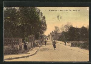 AK Migennes, Avenue du Port du Canal