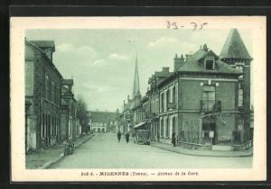 AK Migennes, Avenue de la Gare
