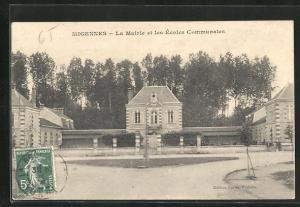 AK Migennes, La Mairie et les Ècoles Communales