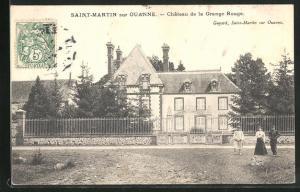 AK Saint-Martin-sur-Ouanne, Chateau de la Grange Rouge