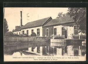 AK Theil-sur-Vanne, Captage des Eaux de la Vanne par la Ville de Paris, Usine hydraulique de la Forge