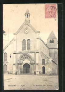 AK Bleneau, L`Eglise