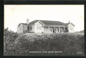 AK Rotorua, Accomodation House before the Eruption