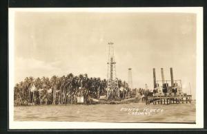 AK Cabimas, Punta Icotea, Bohrtürme an der Küste