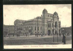 AK Tiflis, Blick auf das prächtige Theater
