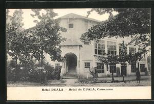 AK Duala, Hotel Duala, Eingang
