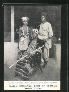 AK Sierra Leone, Madam Hamonyah, Chief of Kennema