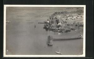AK Keamari, Fliegeraufnahme vom Hafen
