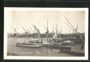 AK Keamari, Yacht Club, Boote im Hafen