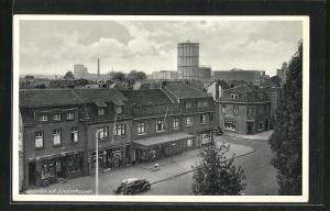 AK Lindenheuvel, Strassenpartie mit Geschäften