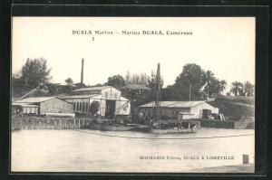 AK Duala, Marina, Hafen und Werft
