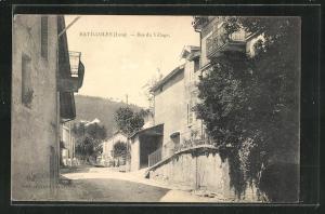 AK Ravilloles, Bas du Village, Strassenpartie