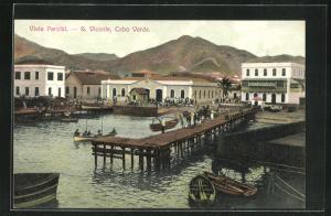AK S. Vicente, Vista Parcial, Bootshafen