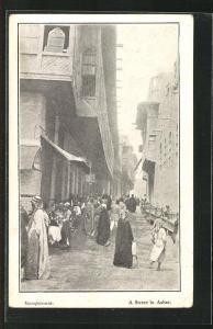 AK Ashar, A Street, Strassenszene in der Stadt