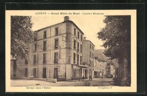 AK Lodeve, Grand Hotel du Nord, Garage dans l'Hotel