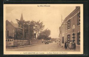 AK Saint-Sebastien, La Route Nationale vers Pornichet