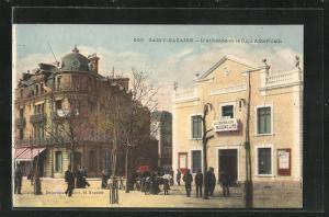 AK Saint-Nazaire, L`Athenee et le Cafe Americain