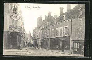AK Mer, Grande Rue, Strassenpartie
