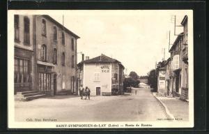 AK Saint-Symphorien-de-Lay, Route de Roanne