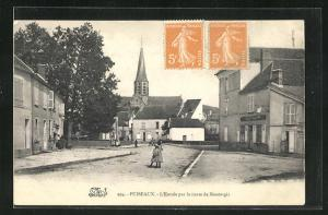 AK Puiseaux, L`Entree par la route de Montargis
