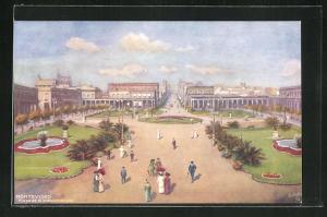 AK Montevideo, Plaza de la Independencia
