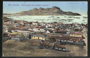AK Sao Vicente / Cabo Verde, Vista geral da cidade e porto