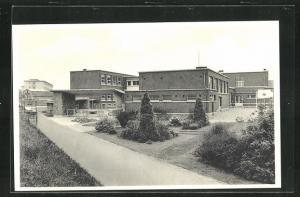 AK Waremme, Ecole Provinciale d`Agriculture, Le Gymnase et l`Ecole Moyenne Menagere