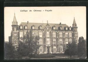 AK Chimay, Collège, Gebäudeansicht