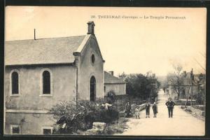 AK Treignac, La Temple Protestant, Kirche