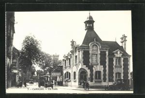 AK Cabourg, La Poste, Gebäudeansicht